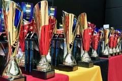 Pokale der Deutschen Meisterschaft in Gera