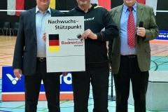 Übergabe des Schildes für den NSP Berlin in Gera