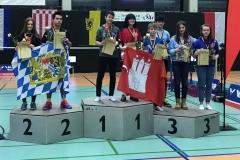 Siegerehrung in Gera vom Mixed