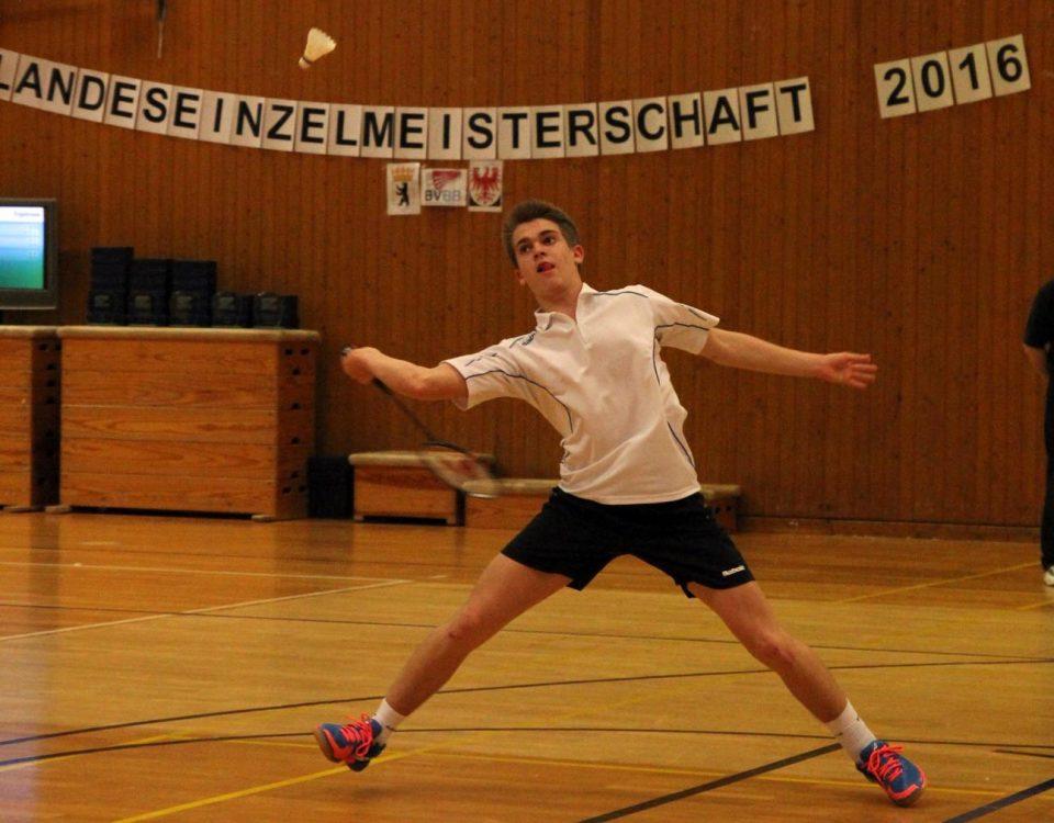 Brian Holtschke - jüngster Landesmeister der BVBB-Geschichte