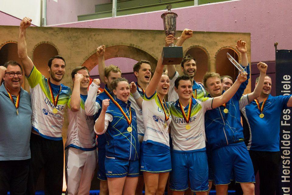 Der TV Reftrath schrieb am Sonntag deutsche Badmintongeschichte. Foto @ Frank Friedrich
