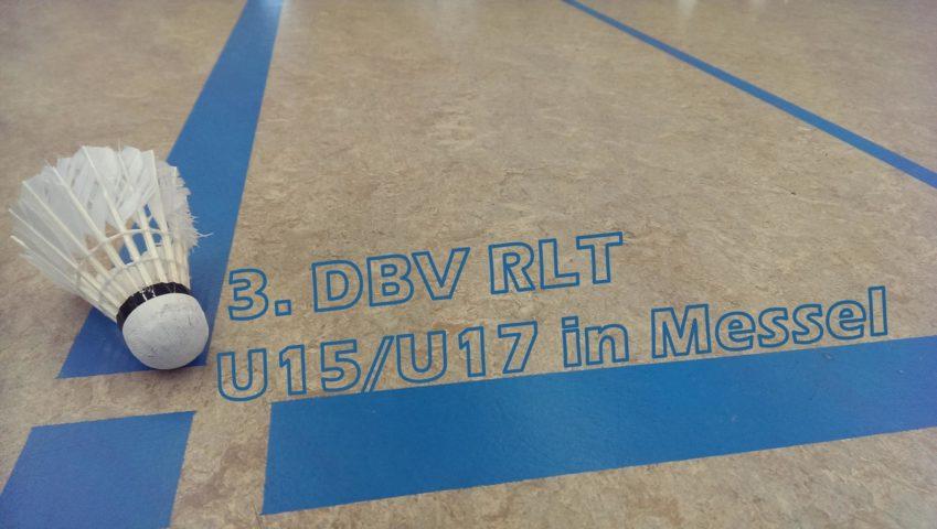 Teaser - 3. DBV RLT der U15/U17 in Messel