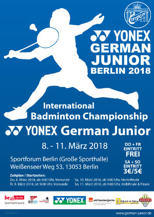 Poster der German Junior