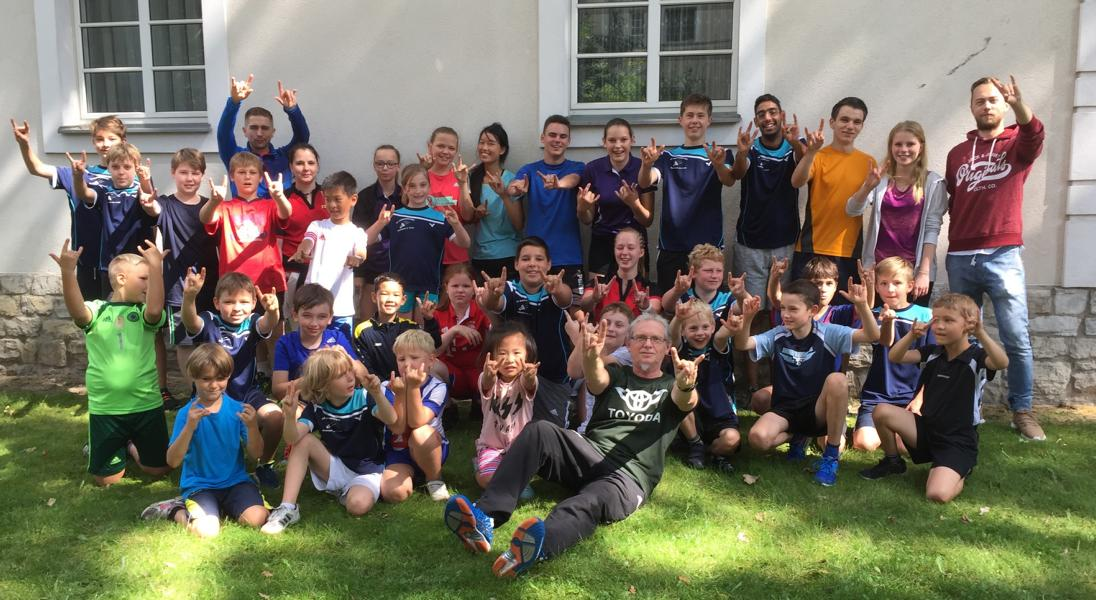 Gruppenbild der Teilnehmer beim Trainingscamp des SCS