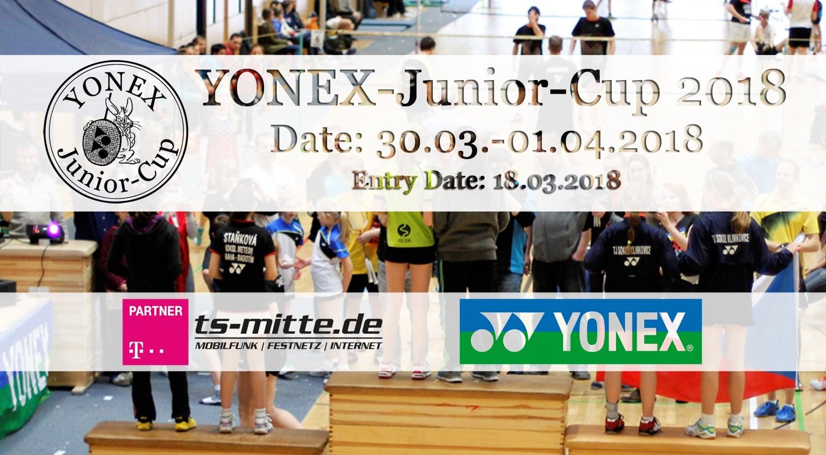 Titelbild des YONEX–Junior–Cup 2018