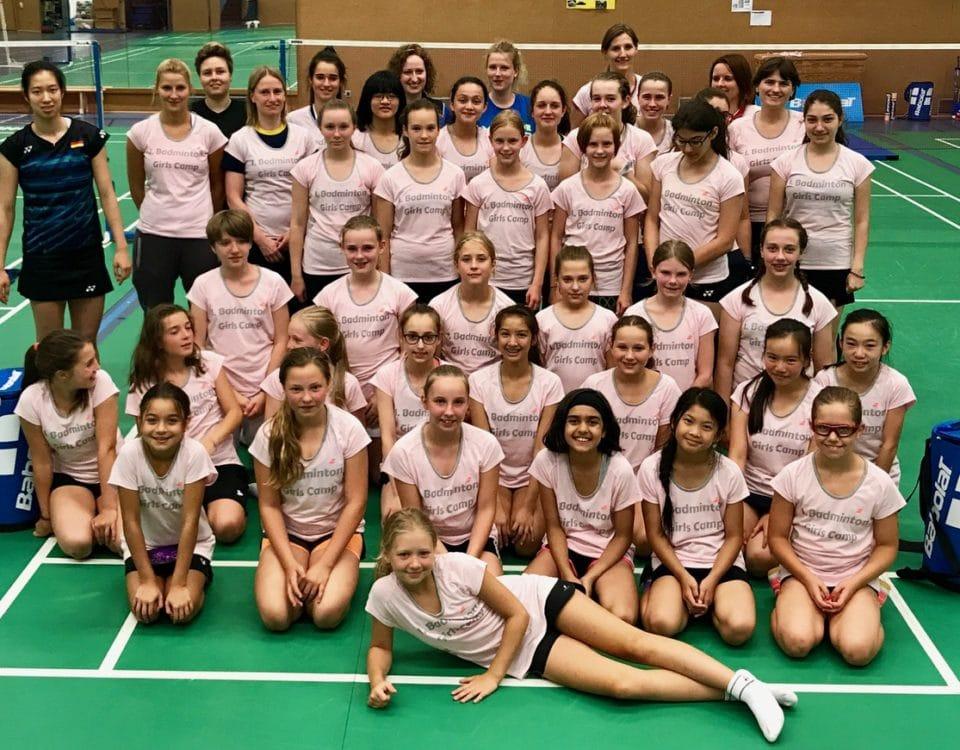 Gruppenbild vom 1. Girls Camp - Foto: Carla Strauß