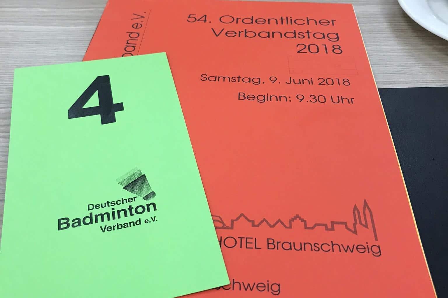 Rückblick auf den 54. DBV-Verbandstag 2018 in Braunschweig