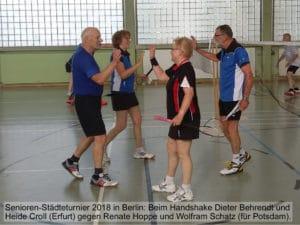 Senioren-Städteturnier zum 29. Mal seit 1982 in Berlin