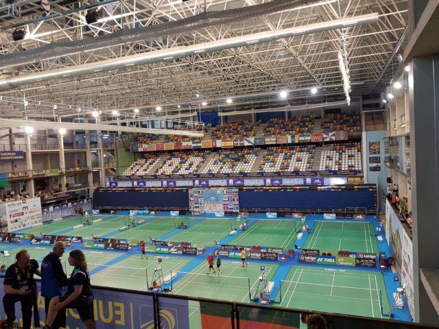 Wettkampfhalle der Senior Championchips - Foto: Knauf