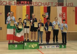 Bilder von der Deutschen Meisterschaft 2018 (U13) in Burg