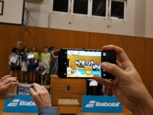 Foto von der Endrunde des Babolat Mini Cup 2018
