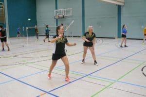 A.Retsch/P.Putercyk (Viktoria Brandenburg) erkämpften sich Platz 2 im Damen-Doppel