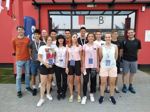 Das deutsche U17 Team in Gniezno (Polen) - Foto: Facebook 'DBV Jugend'