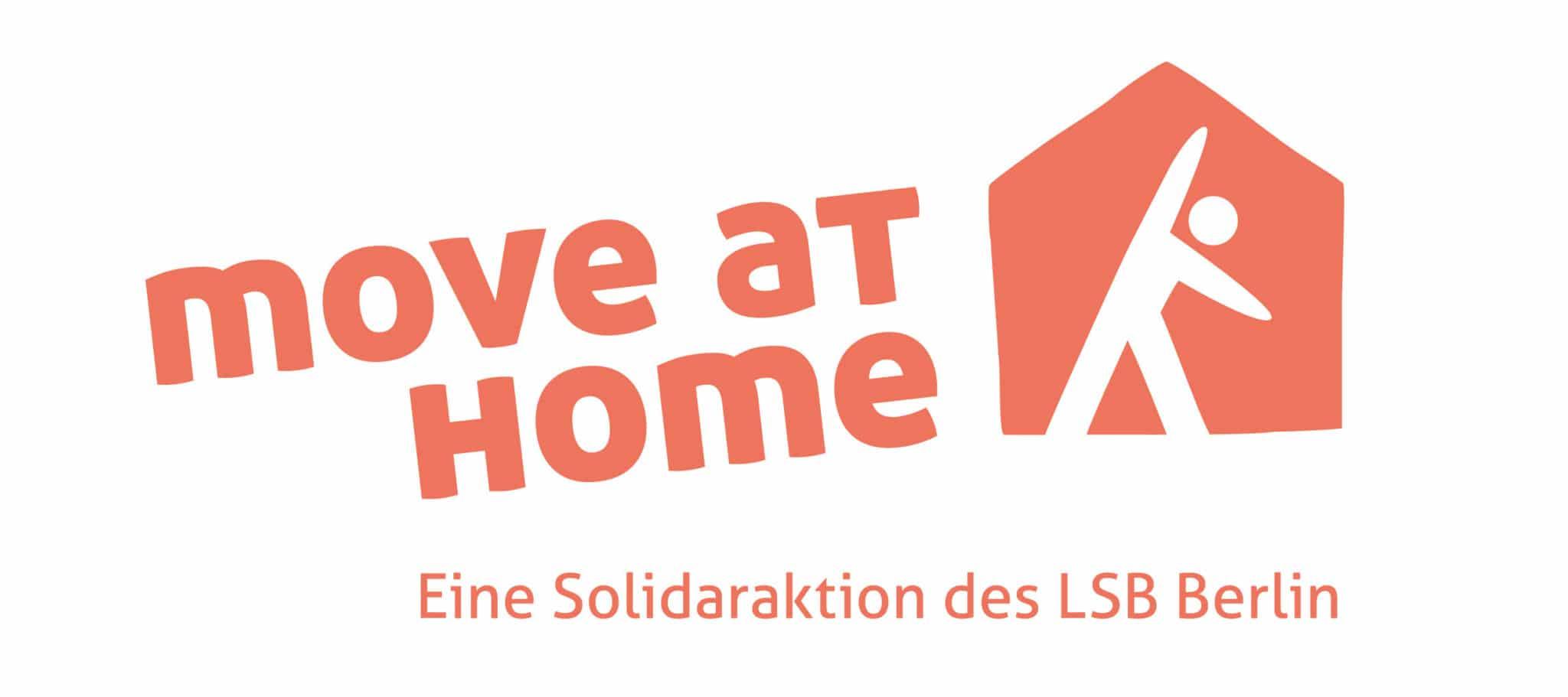 """Kampagne """"move at home"""" für Bewegung und Solidarität live im rbb - Sportvereine des Landessportbunds machen Wohnzimmer zu Turnhallen"""