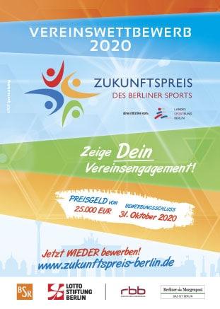 Zukunftspreis des Berliner Sports 2020