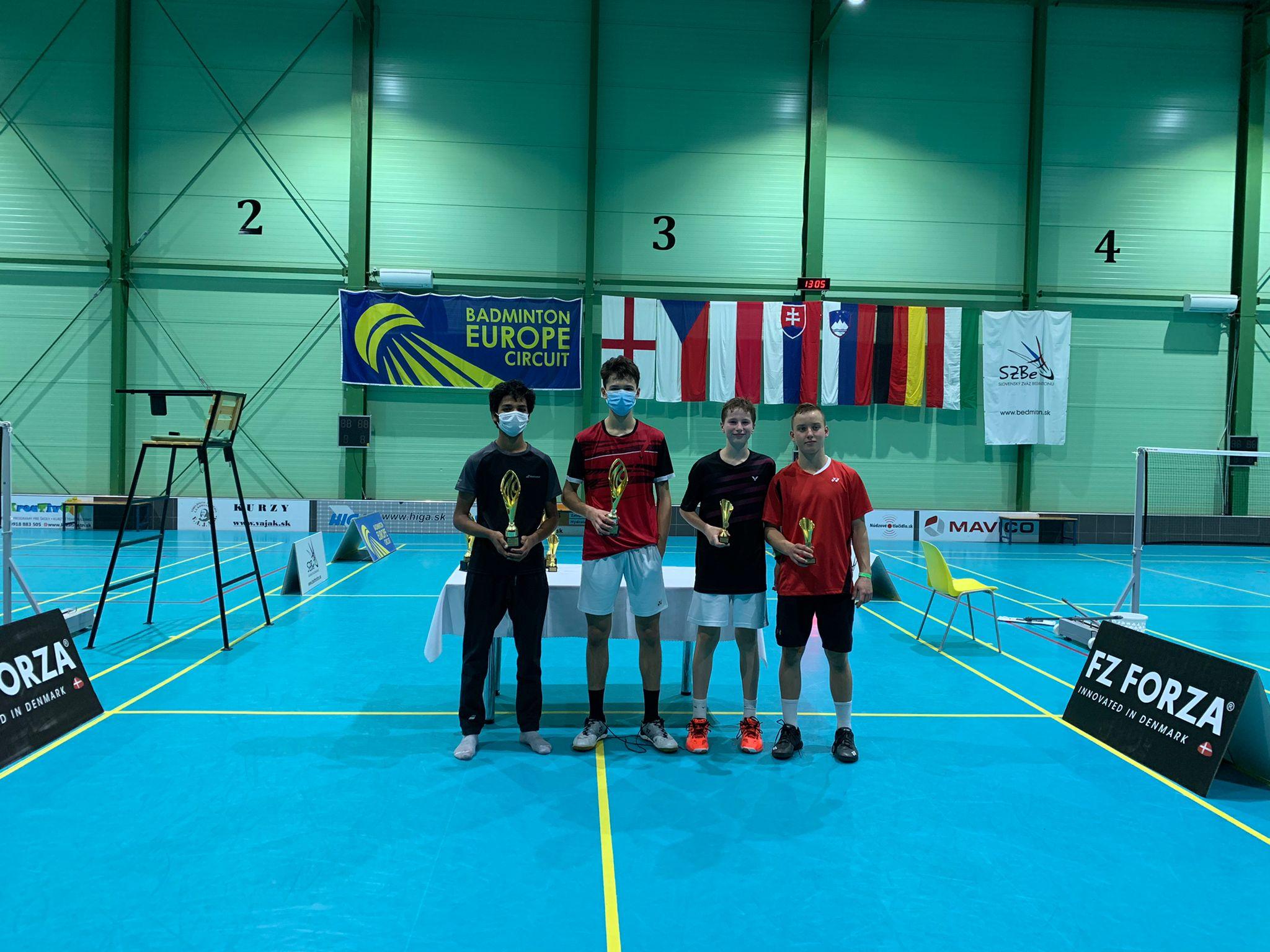 In den Fußstapfen von Brian und Malte - Erster Turniersieg von Yuri und Adi auf europäischer Ebene
